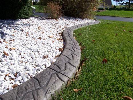 Decorative Landscape Edging by Concrete Curbing Concrete Landscape Curbing Concrete