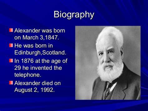 biography text of alexander graham bell alexander graham bell cynthia c