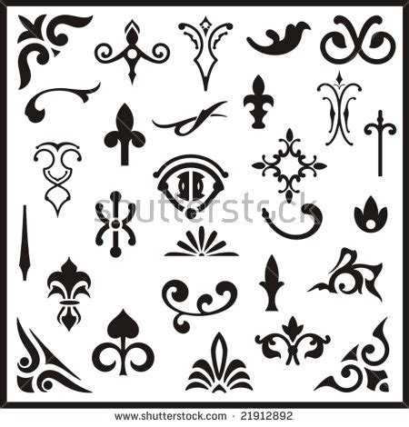 western design elements vector free western design elements