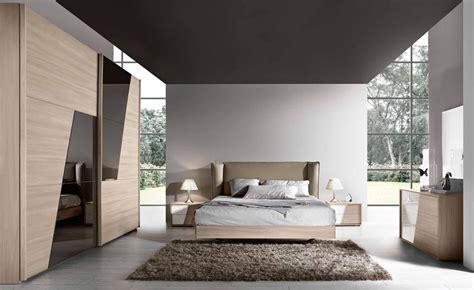 arredo camere da letto moderne da letto quot riga quot olmo e bianco laccato moderne