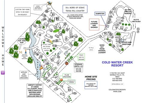 rv parks in texas map coldwater creek rv park 4 photos 1 reviews marble falls tx