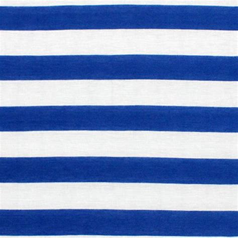 light blue and white striped fabric royal blue and white stripe cotton jersey blend knit