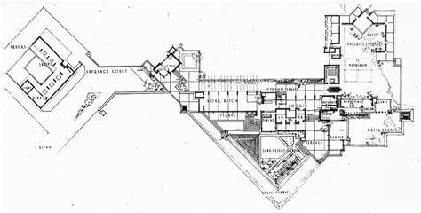taliesin west floor plan archi maps