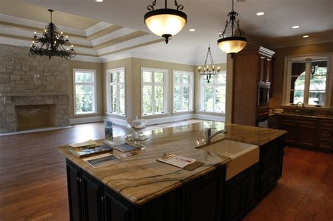 hearth room ideas hearth room traditional kitchen st louis by schaub