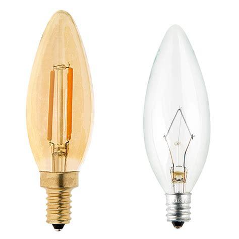 b10 led filament bulb 25 watt equivalent candelabra led