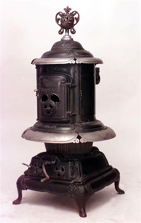 pot belly stoves images  pinterest antique
