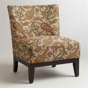 paisley accent chair paisley darby chair world market