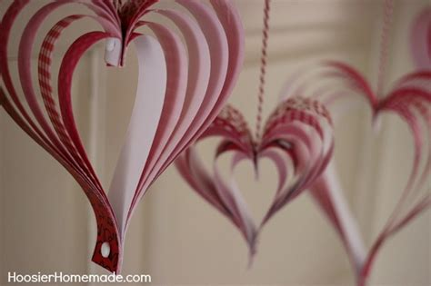 How To Make Hearts Out Of Paper - how to make a 3d out of paper easy crafts