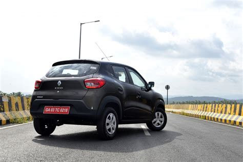renault kwid black colour driven renault kwid the changer pitstop