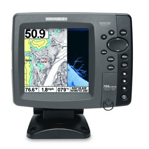 Gps Finder Humminbird 408130 1 788ci Hd Di Combo Fishfinder Gps Best Chartplotter