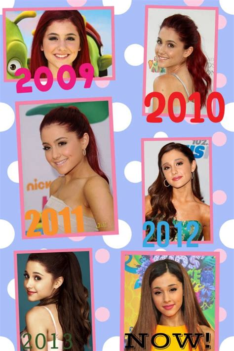 Ariana Grande Biography Timeline | timeline of ariana 2009 2014 repost if you love her too