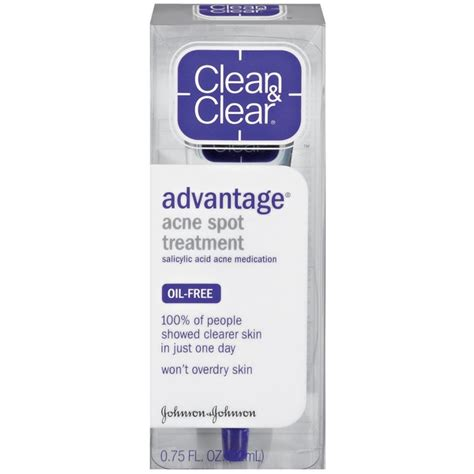 clean clear 174 advantage 174 acne spot treatment acne