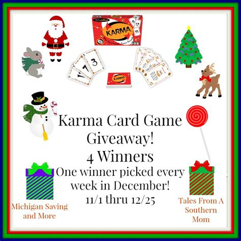 Games Giveaway - karma card game by set games giveaway amy aron s
