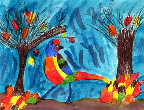 themes for drawing contests kids wildlife art competition honorable mention winners