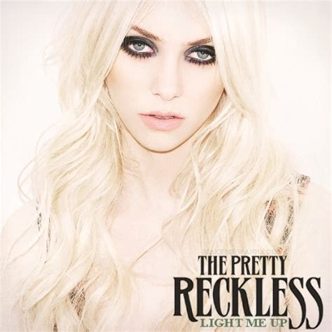 Light Me by Light Me Up Fanmade Album Cover The Pretty Reckless