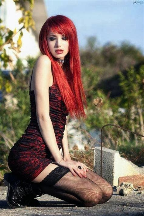 gothic girl with bright red hair 17 cool halloween gmorts chaotica not a weekly house of paincakes article 2