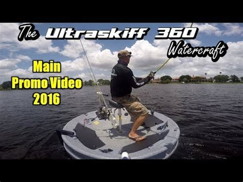 round boat youtube the ultimate fishing platform the world s 1 portable