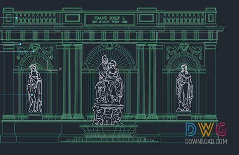 museum design drawings cad drawings download cad blocks historical door building cad drawings 187 dwgdownload com