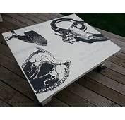 Table Basse En Bois De Palette 50 Nuances Grey  R&233cupart D&233co