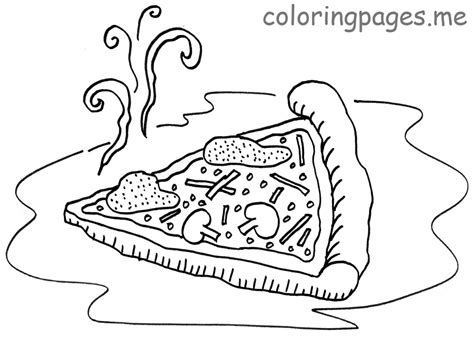 pizza coloring pages kids printable coloring pages 33