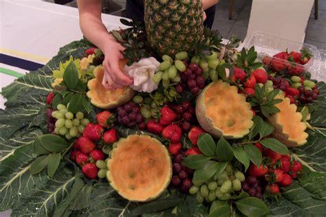 fruit centerpieces for tables the church cook fruit centerpiece