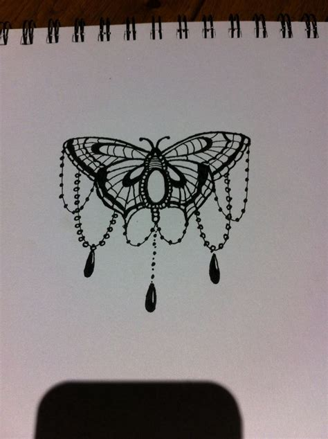 beads tattoo designs moth butterfly bead design ink my whole p