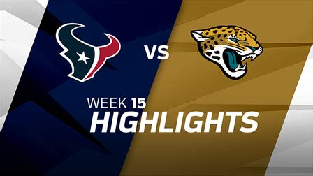 jaguars going to jaguars are going to the playoffs highlights week 15