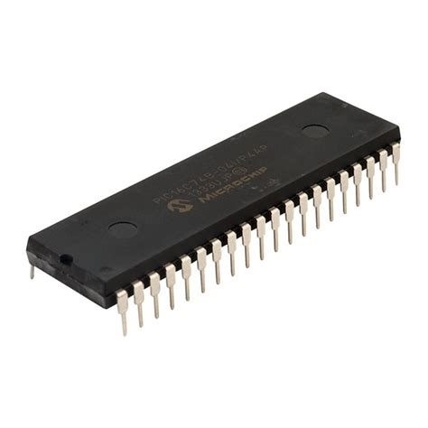 integrated circuit and microcontroller microchip pic16c74b 04 p microcontroller rapid