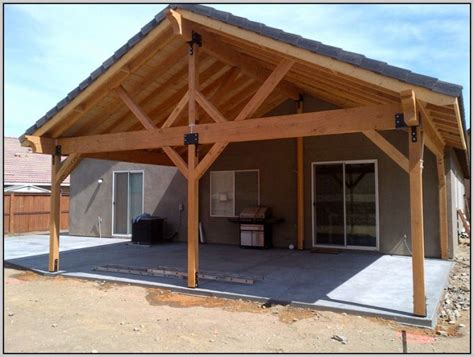 How To Build A Patio Cover build a patio cover out of wood patios home design