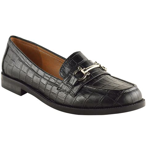 loafers for work new womens loafers flat office work school smart