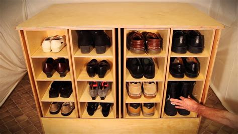 Overboard Shoe Closet by Rotating Shoe Rack Overboard Modern Home Interiors