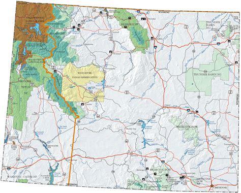 wyoming map wyoming map toursmaps