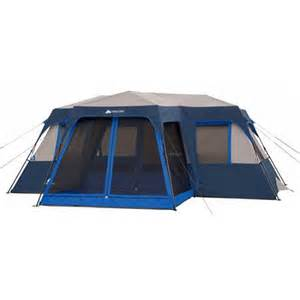 ozark trail 18 x 16 instant cabin tent with screen room