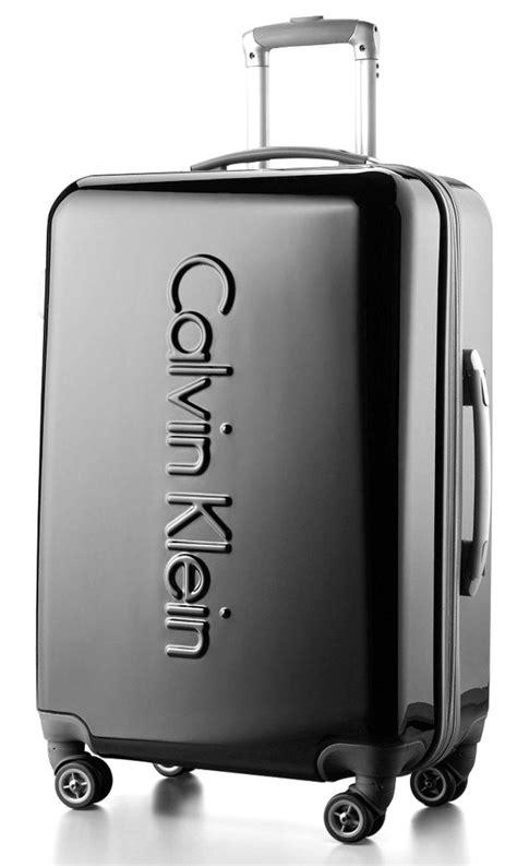 Ck Ashara Set Pouch calvin klein manhattan designer carry on luggage suitcase spinner 4 wheeled ebay