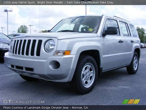 2009 Jeep Patriot Sport Bright Silver Metallic 2009 Jeep Patriot Sport