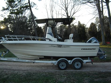 triumph boats hull truth 2003 210 cc triumph 13 500 the hull truth boating and