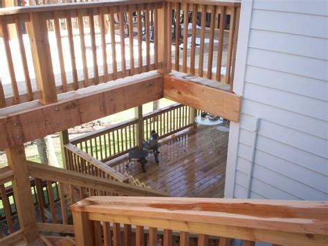 two story deck 301 moved permanently