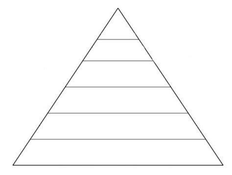 Blank Food Pyramid Template by Best Photos Of Blank Pyramid Template Blank Food Pyramid