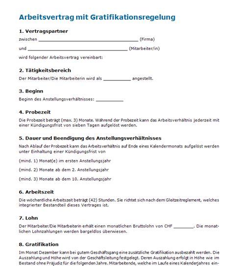 Vorlage Kündigung Versicherung Mit Auszahlung Arbeitsvertrag Mit Gratifikation Muster Zum