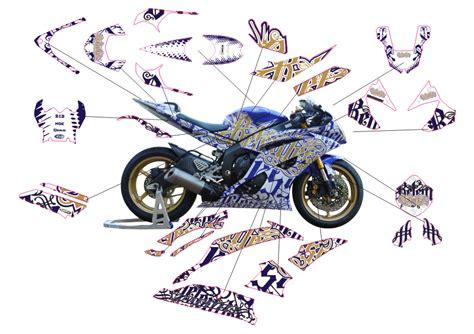 Yamaha Aufkleber R6 by Motorradaufkleber Bikedekore Wheelskinzz Yamaha R6