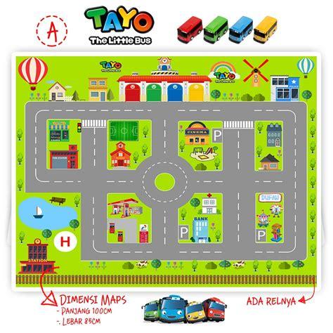 Maps Mainan tayo mainan anak dan map tayo shopee indonesia