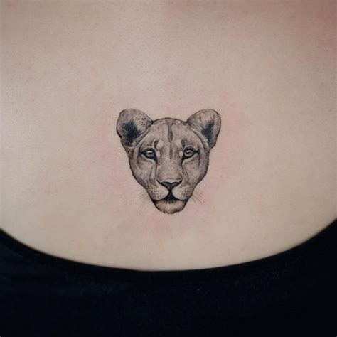 small lion head tattoo small lioness ink ink by