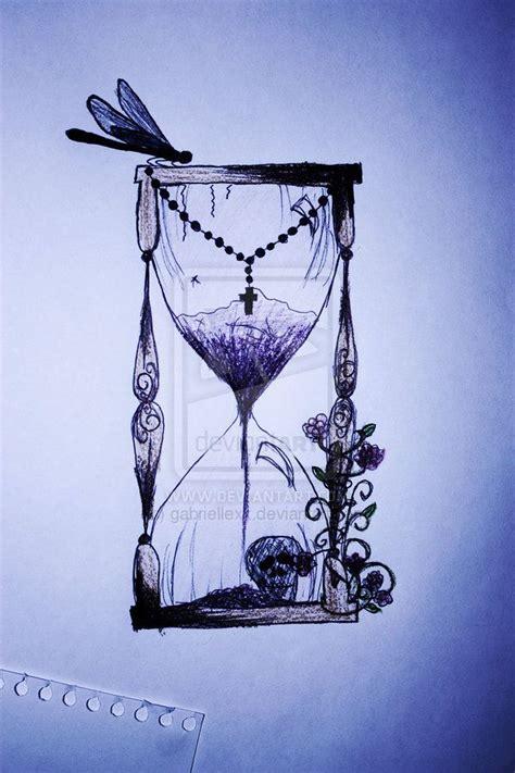 hourglass pattern in c hour glass tattoo by gabriellexx on deviantart design