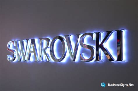 Led Lights For Outdoor Signs Sign Backlit Letters 3d Led Backlit Signs With Mirror Polished Stainless Steel Letter Shell