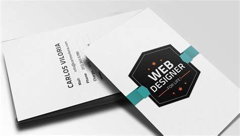 Web Designer Business Card