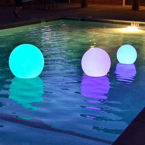 floating pool lights for wedding 10 best led balls by vipply images on balcony