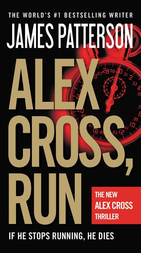 alex cross run alex james patterson alex cross run