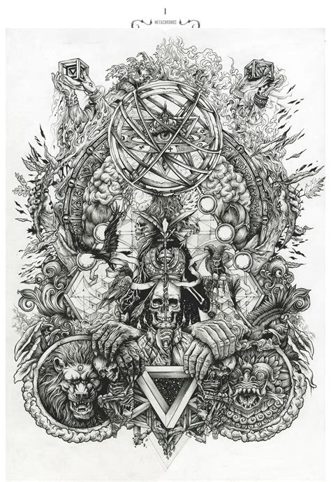 brilliant intricate drawings of dzo olivier