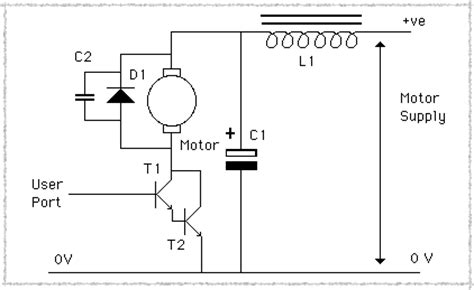 capacitor parallel to dc motor motors 1