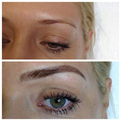 tattooed eyebrows things to about feather touch eyebrow tattoos